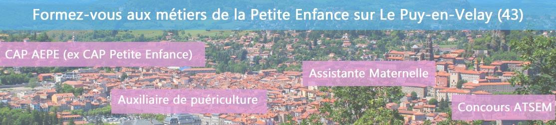 Ecole de Formation petite enfance sur Le Puy-en-Velay