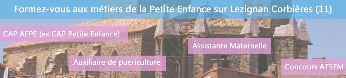 Ecole de Formation petite enfance sur Lézignan-Corbières