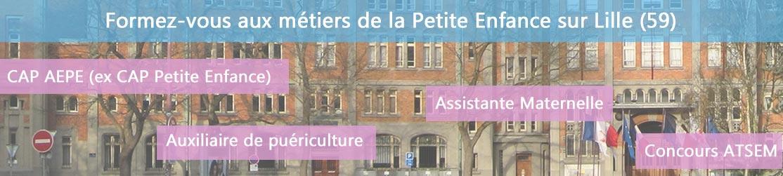 Ecole de Formation petite enfance sur Lille