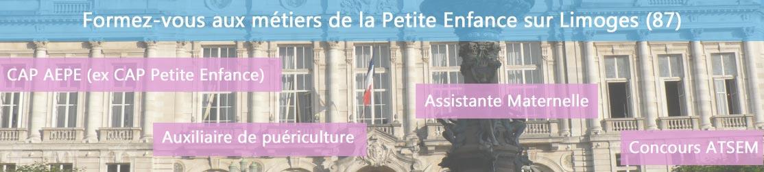 Ecole de Formation petite enfance sur Limoges
