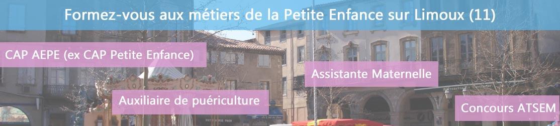Ecole de Formation petite enfance sur Limoux