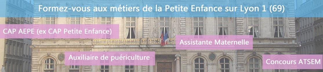 Ecole de Formation petite enfance sur Lyon