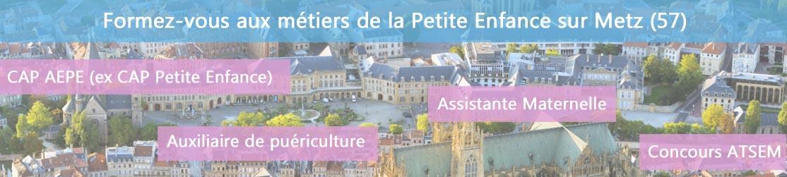 Ecole de Formation petite enfance sur Metz