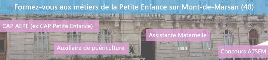 Ecole de Formation petite enfance sur Mont-de-Marsan