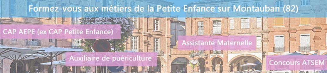 Ecole de Formation petite enfance sur Montauban