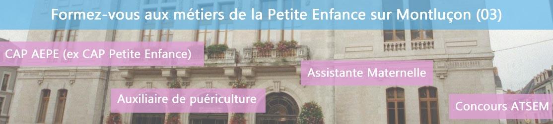 Ecole de Formation petite enfance sur Montluçon