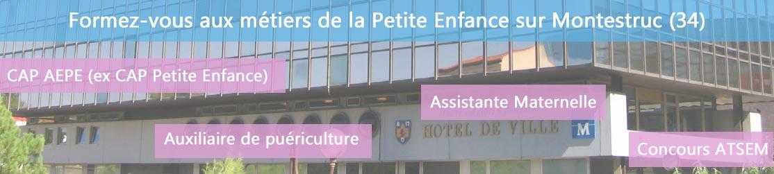 Ecole de Formation petite enfance sur Montpellier