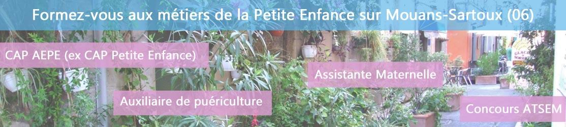 Ecole de Formation petite enfance sur Mouans-Sartoux