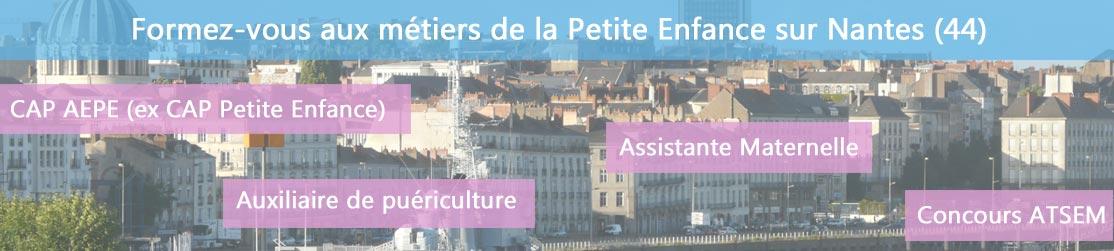 Ecole de Formation petite enfance sur Nantes