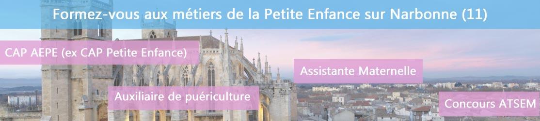 Ecole de Formation petite enfance sur Narbonne