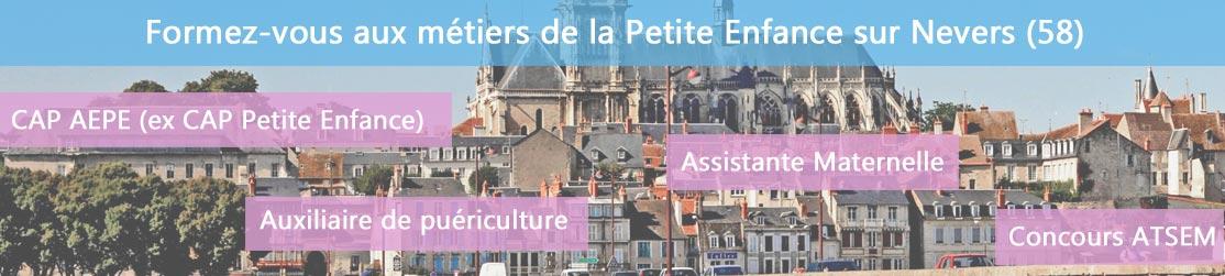 Ecole de Formation petite enfance sur Nevers