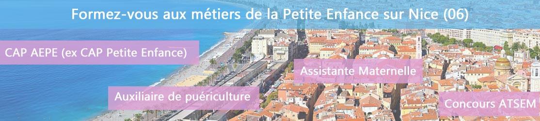 Ecole de Formation petite enfance sur Nice