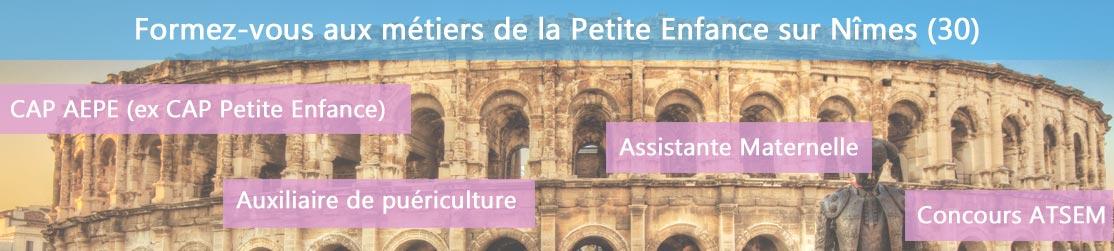 Ecole de Formation petite enfance sur Nîmes