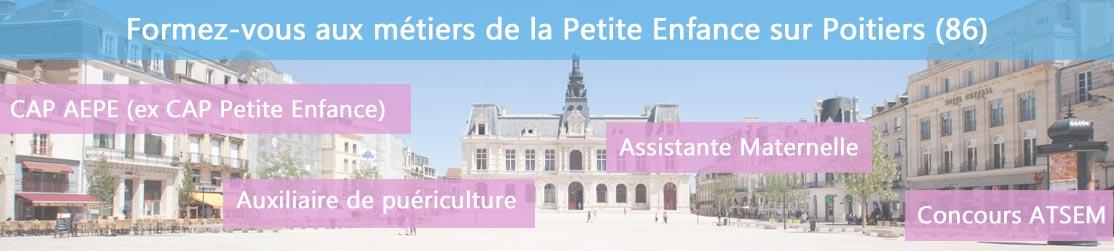 Ecole de Formation petite enfance sur Poitiers