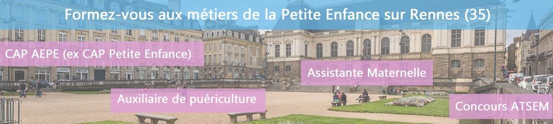 Ecole de Formation petite enfance sur Rennes