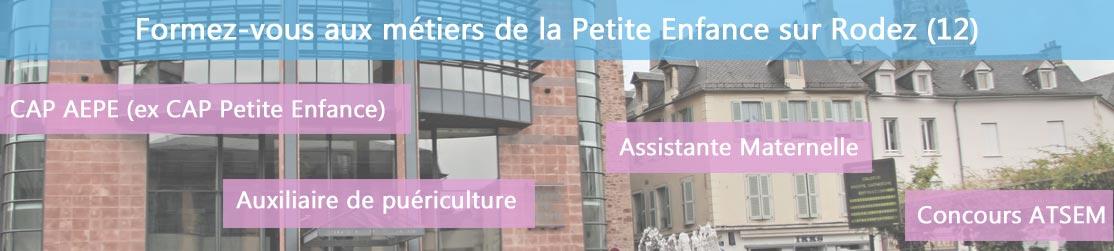 Ecole de Formation petite enfance sur Rodez