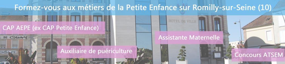 Ecole de Formation petite enfance sur Romilly-sur-Seine