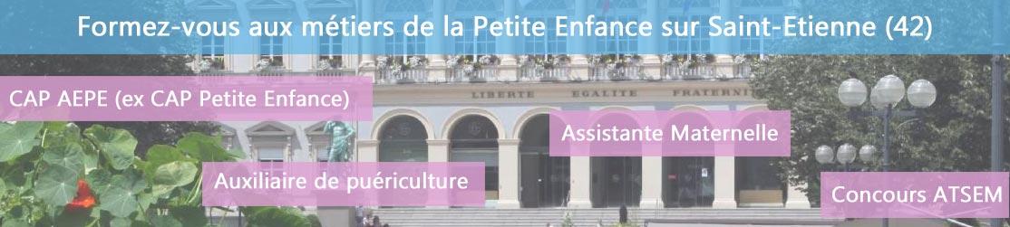 Ecole de Formation petite enfance sur Saint-Etienne
