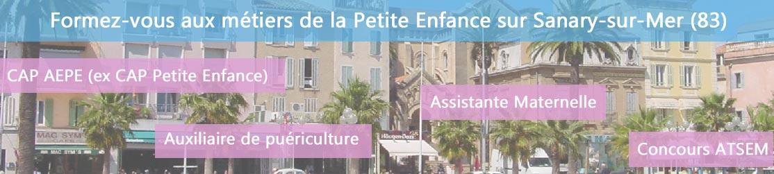Ecole de Formation petite enfance sur Sanary-sur-Mer