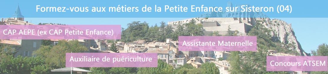 Ecole de Formation petite enfance sur Sisteron