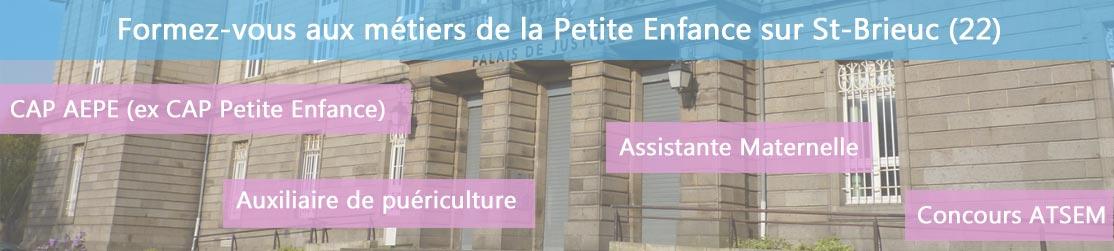 Ecole de Formation petite enfance sur St-Brieuc