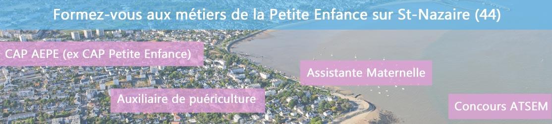 Ecole de Formation petite enfance sur St Nazaire