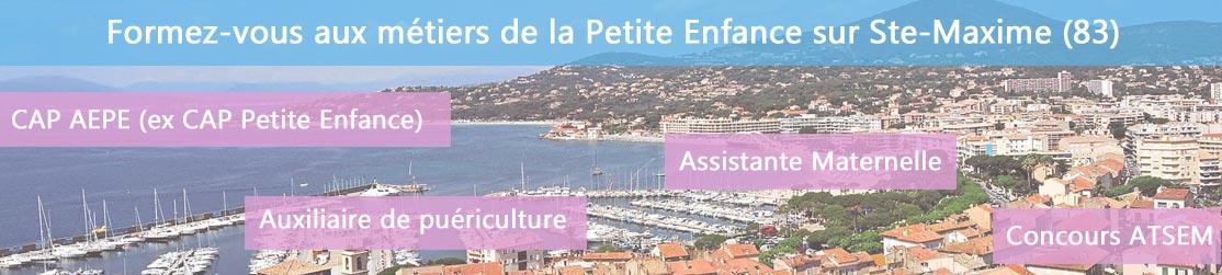 Ecole de Formation petite enfance sur Ste-Maxime