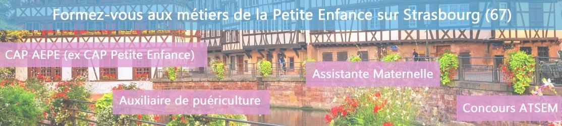 Ecole de Formation petite enfance sur Strasbourg