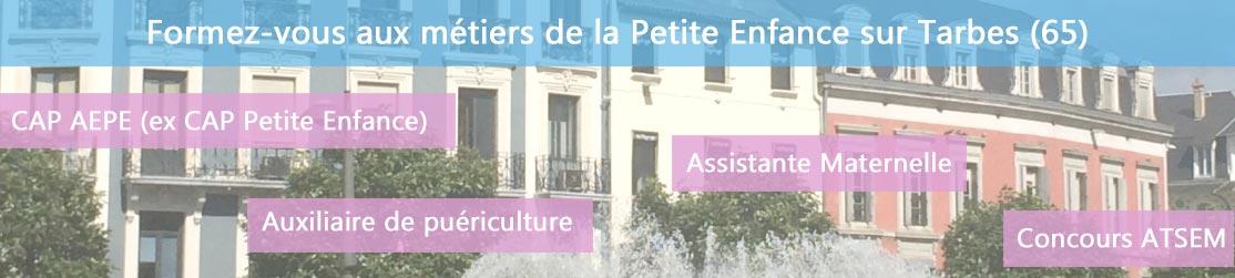 Ecole de Formation petite enfance sur Tarbes