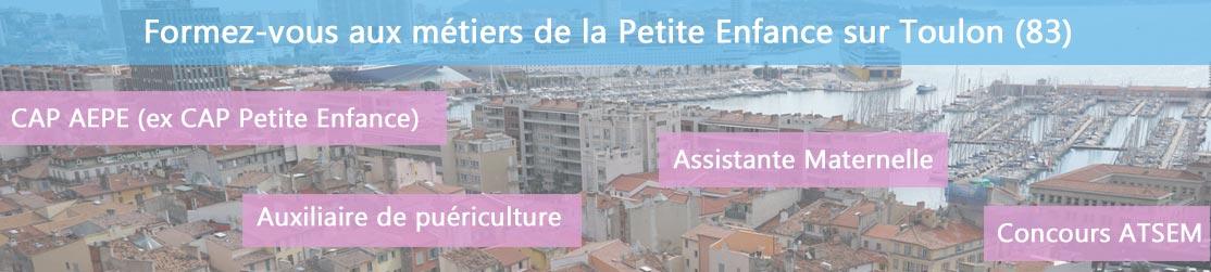 Ecole de Formation petite enfance sur Toulon