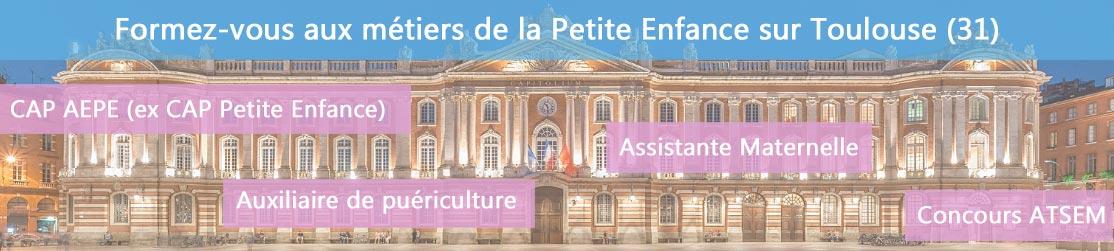Ecole de Formation petite enfance sur Toulouse