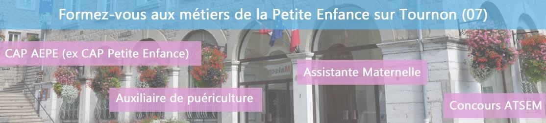 Ecole de Formation petite enfance sur Tournon