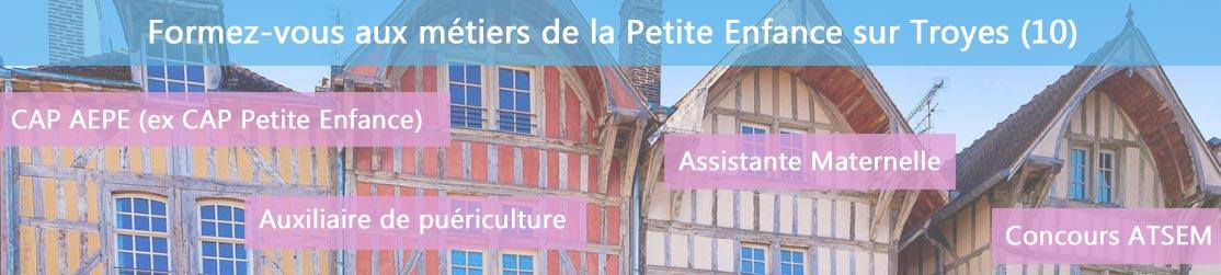 Ecole de Formation petite enfance sur Troyes