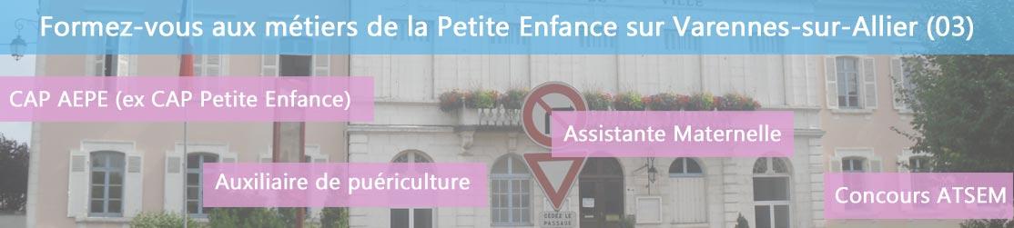 Ecole de Formation petite enfance sur Varennes-sur-Allier