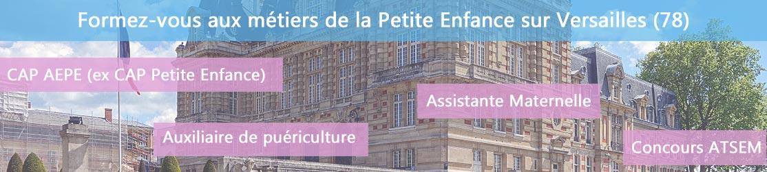 Ecole de Formation petite enfance sur Versailles