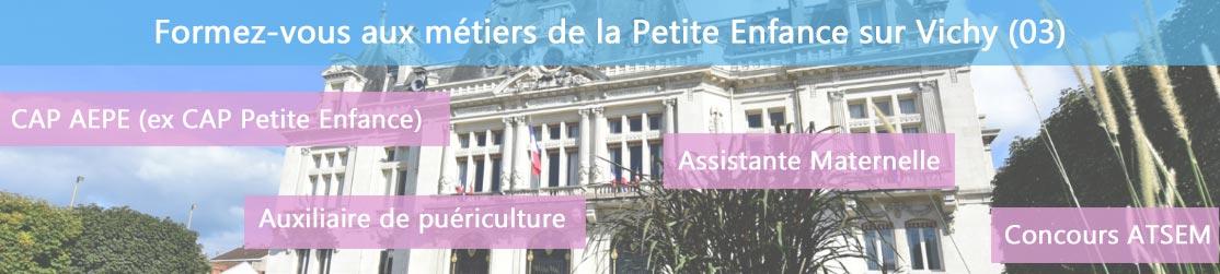 Ecole de Formation petite enfance sur Vichy
