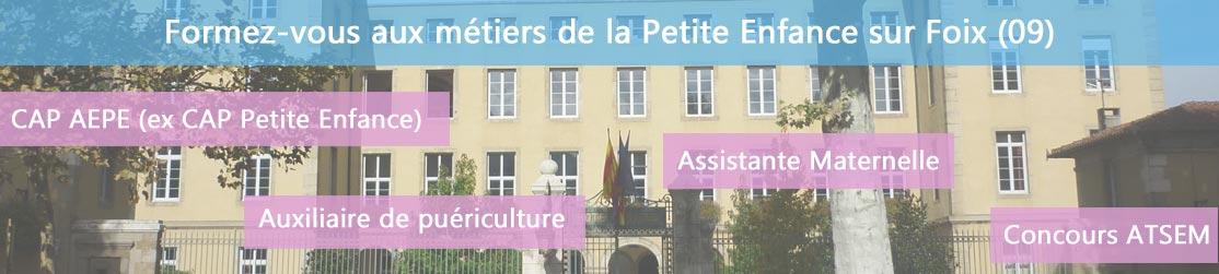 Ecole de Formation petite enfance sur Foix
