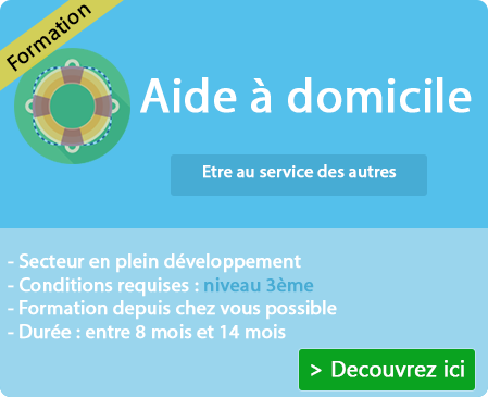 Programme de la formation aide à domicile (Ardèche)