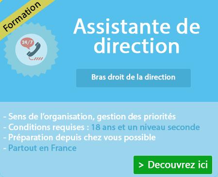 La formation pour être assistante de direction sur Bourg St Andeol