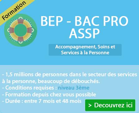 Programme BEP et Bac Pro ASSP