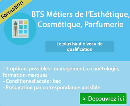 Formation BTS Métiers de l'esthétique sur St Pourcain Sur Sioule