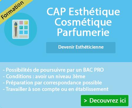 Préparer son CAP esthétique cosmétique et parfumerie sur St Pourcain Sur Sioule