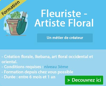 Suivre une préparation à la profession de fleuriste sur Fleury