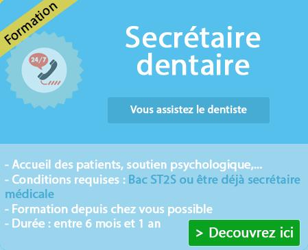 Comment devenir secrétaire dentaire sur Bourg St Andeol ?