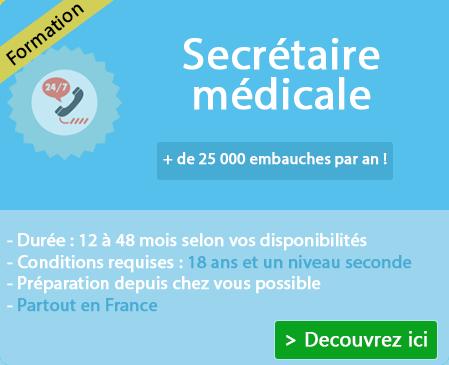 Programme formation secrétaire médicale