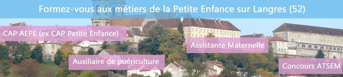 Ecole de Formation petite enfance sur Langres