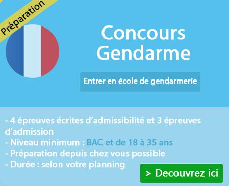 Concours entrée en école de gendarmerie (Aube)