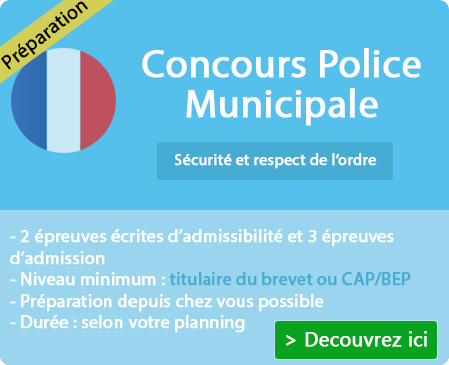 Programme formation Gardien de police Municipale sur Le Pouzin