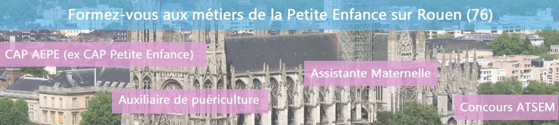 Ecole de Formation petite enfance sur Rouen