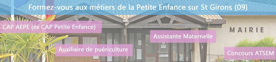 Ecole de Formation petite enfance sur St-Girons